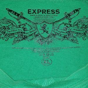 Graphic Tee Vintage Tee Angels of Glory Tee Bleached